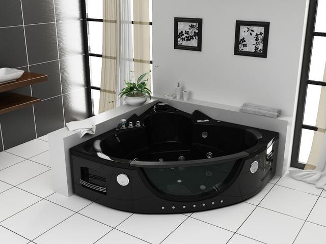 Vasca idromassaggio 152x152cm a 12 idrogetti per 2 persone pr - Vetro vasca da bagno ...
