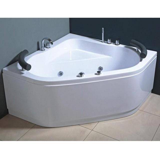 Vasca idromassaggio 130x130cm ad 8 idrogetti per 2 persone pr - Misure vasche da bagno angolari ...