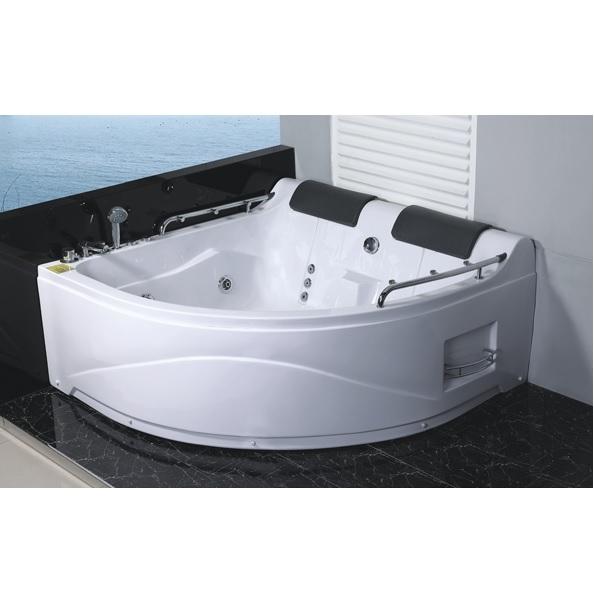 Vasca idromassaggio 150x150cm cromoterapia per 2 persone pr - Cromoterapia vasca bagno ...