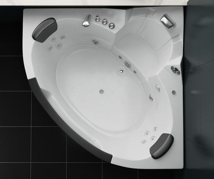 Vasca Idromassaggio 152x152cm a 12 idrogetti, per 2 persone pr