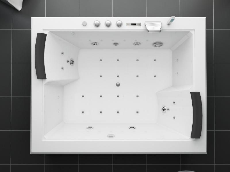 Vetro vasca da bagno a vasca e doccia con idromassaggio acquisti
