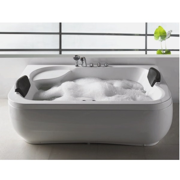 Vasca idromassaggio 183x115cm a 12 idrogetti per 2 persone vi - Vasca da bagno per due ...