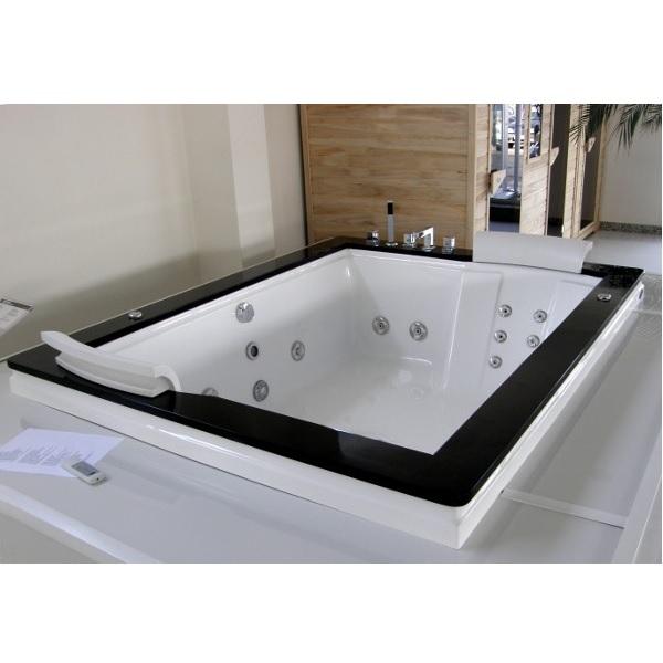 Vasca idromassaggio 185x150cm da incasso per 2 persone vi - Vasca da bagno incasso prezzi ...