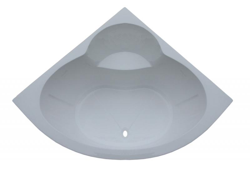 Vasca Da Bagno Tradizionale : Vasca da bagno semplice 135x135 con telaio in acciaio e struttura in