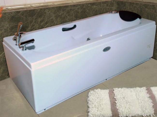Vasca idromassaggio 170x70 con pompa idromassaggio whirpool e ...
