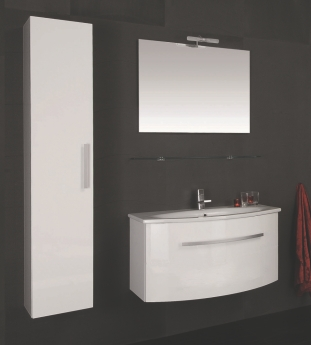 Arredo bagno begas completo di lavabo e specchiera bb - Arredo bagno bricoman ...