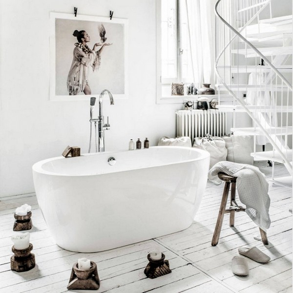 Vasca per centro stanza disponibile in due modelli - Pulire vasca da bagno ...